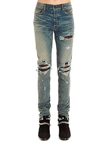 Luxury Fashion   Amiri Heren S0M01106SDCLASSICINDIGO Donkerblauw Katoen Jeans   Lente-zomer 20