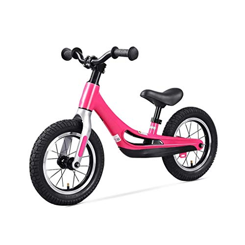 High end Tricycle Trike Children's Balance Car, Inflatable Spoke Wheel Outdoor Children's Exercise Bike - Children's Exercise Bike 2-7 Years Old, 3 Colors