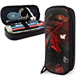 zhengchunleiX RWBY Leather cartuchera Pen Bag for Girls Boys Kids Adult Pencil Pouch Stationery Storage Bags for School Office