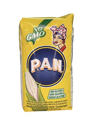 PAN Semoule de Mais Blanc 1 kg - Lot de 10