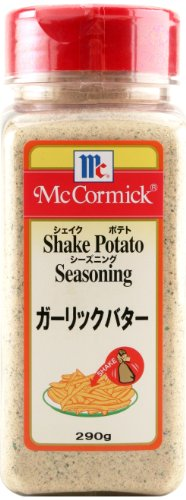ユウキ マコーミック シェイクポテトシーズニング ガーリックバター ボトル290g