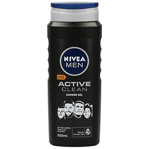 NIVEA Men gel de ducha active clean bote 500 ml