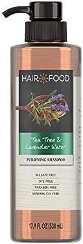 Hair Food Tea Tree and Lavender Sulfate Free Shampoo, 17.9 FL OZ