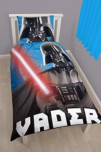 Style It Up - Copripiumino Reversibile per Bambini, Motivo: Star Wars, Star Wars Universe, Singolo