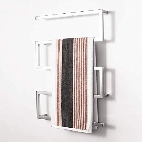 Vrijstaande handdoekhouder, stijlvol en simpel voor thuis, messenhouder, roestvrij staal, universeel, leeg, messenblok, opslag met tandstangen, organizer voor veilige, schone en nette uitrusting.