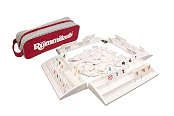 Rummikub - The Complete Original Game With Full-Size Racks and Tiles in a Durable Canvas Storage/Travel Case by Pressman - Amazon Exclusive