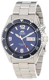 Orient Men's CEM65002D 'Blue Mako' Stainless Steel Dive Watch (B001EWEQ3K)   Amazon price tracker / tracking, Amazon price history charts, Amazon price watches, Amazon price drop alerts