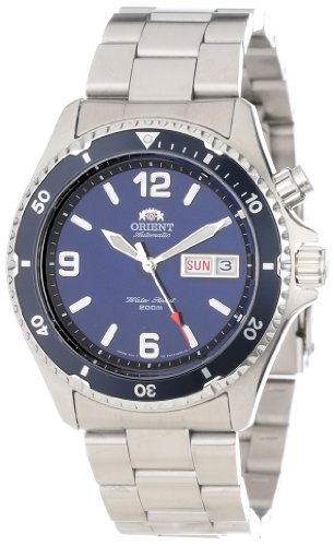 Orient Men's CEM65002D 'Blue Mako' Stainless Steel Dive Watch