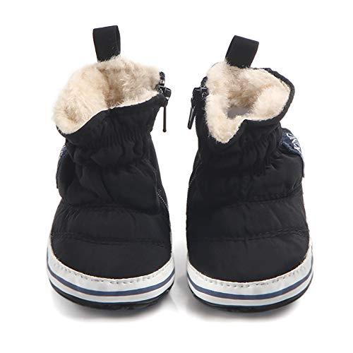 Winter Warm Lässige Babyschuhe, Tukistore Baby Stiefel Schuhe weiche Sohle Stiefel Prewalker warme Lauflernschuhe Krippeschuhe für Neugeborene Kinder Jungen Mädchen