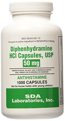 Best 50mg diphenhydramine for 2020