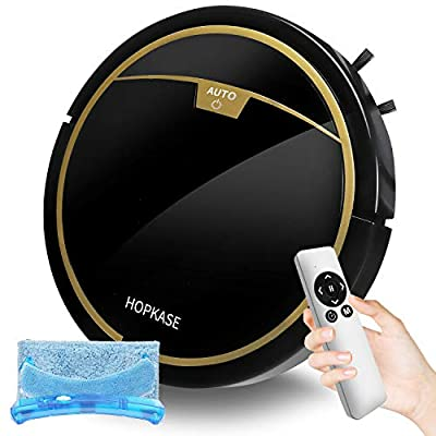 Robot Vacuum Cleaner, Auto Robotic Vacuums,Robot mop, Mini Robot Vacuums Cleaner Ultra-Thin 2800PA, Upgraded 6D Collision Sensor, Quiet Cleaning Robot for Pet Hair, Low Pile Carpets, Hard Floor