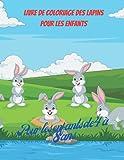 Livre de coloriage de lapins pour enfants: Livre de dessins de lapins, 50 adorables dessins de lapins pour garçons et filles, livre d'activités avec des lapins