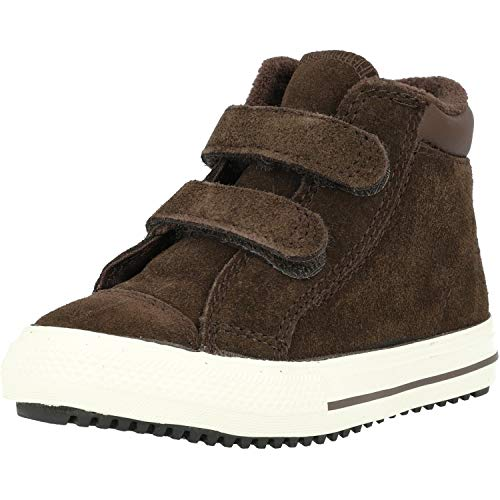 Converse Chuck Taylor All Star PC Boot Hi Burnt Umber Suede 3 US Child