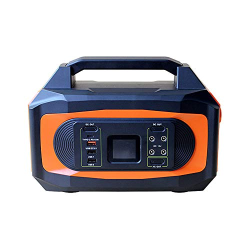 Portable Laptop Battery110V-220VOutput/3.7V 120000mAh/444wh Lithium Ion Battery Power Bank Charger USB Ports QC3.0 Portable Phone Car Jump Starter AC Outlet and Solar energy Car Charger