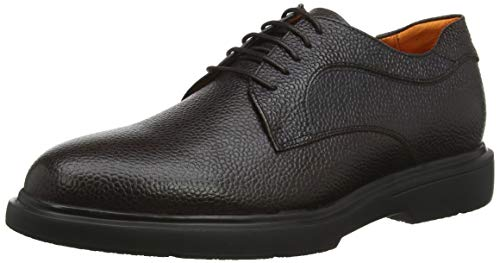 Stonefly Truman Calf Print, Zapatos de Cordones Derby para Hombre, Marrón (Mocha Brown 330), 42.5 EU
