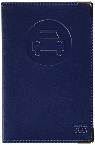 Sans 550064 Porte Papier Spécial Nouveau Permis de Conduire Simili Cuir, Bleu Marine