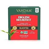 VAHDAM, English Breakfast Tea (30 Pyramid Tea Bags)| HIGH ENERGY & CAFFEINE - Healthy Coffee Replacement | Strong, Robust & Flavoury Black Tea Bags | Brew Hot, Iced or Milk Tea | ANTIOXIDANTS RICH
