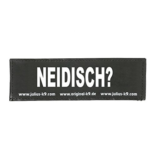 Julius K9 8151110 2 Klettsticker S. Neidisch