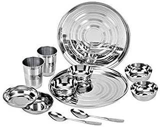 silver thali dinner set