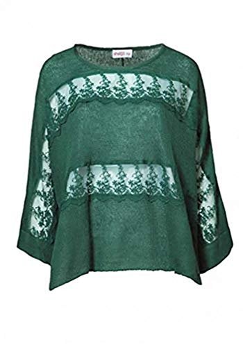 Sheego - Maglione - Donna verde 50