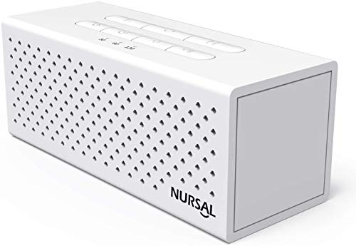 NURSAL White Noise Machine Sound Machine for Sleeping & Relaxation, 10 Natural Sounds, Portable Sleep Therapy for Baby, Home, Office or Travel