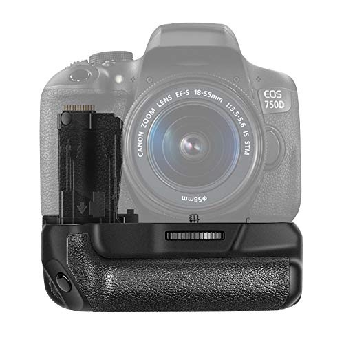 Neewer® NW-760D Batteriegriff Akkugriff Battery Grip wie der BG-E18 arbeitet mit LP-E17 Batterie für Canon EOS 750D / T6i, 760D / T6s