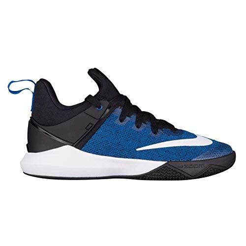 Nike Women's Zoom Shift Basketball Shoe Game Royal/White/Black Size 9 M US