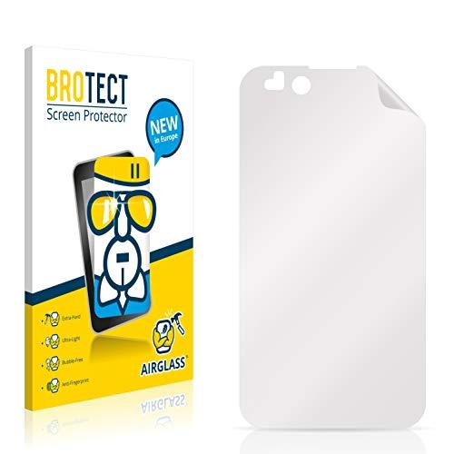BROTECT Panzerglas Schutzfolie kompatibel mit LG Electronics P970 Optimus Black - AirGlass, extrem Kratzfest, Anti-Fingerprint, Ultra-transparent