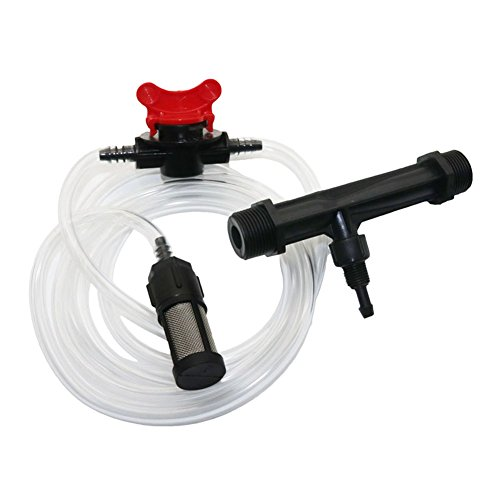 Mezclador para fertilizante Adhere To Fly, para riego, inyectores con filtro conmutador