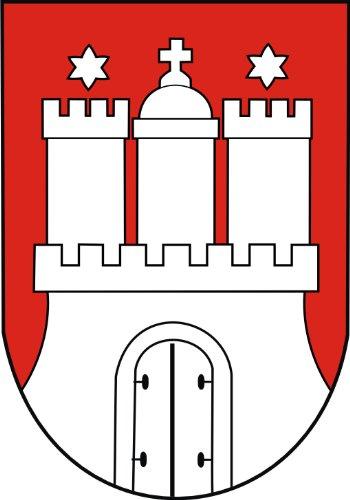 Aufkleber Hamburg Wappen Schild Sticker Autoaufkleber