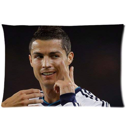 Funda de cojín decorativo de Cristiano Ronaldo