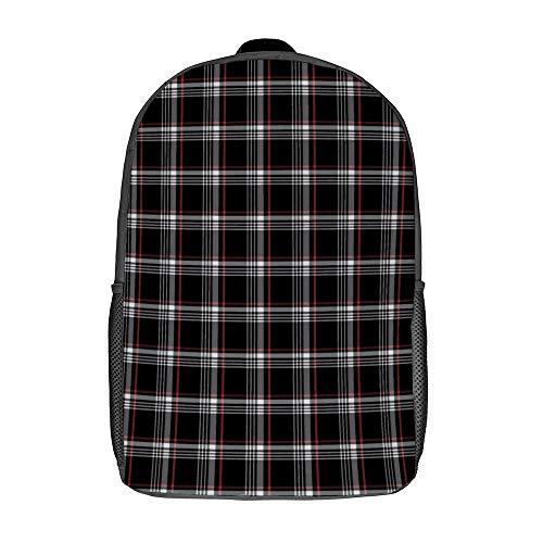 Golf GTI Plaid School Bookbag Durable Work Daypack Computer Backpacks for Women