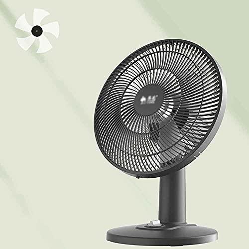 Ventilador De Sobremesa Cabezal De Oscilación Velocidad Del Ventilador Ajustable Mini Sobremesa Ventilador Eléctrico De Sobremesa Aire Acondicionado De Refrigeración Automático Eléctrico Ventilador