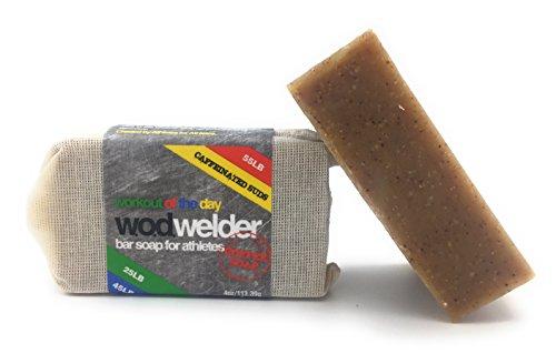 w.o.d welder All-Natural Coffee Exfoliating Bar Soap