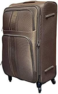 Excellent India Luggage Bag  Trolley Luggage Bags  Jasper Brown   Big: 78 cms  2 Years Warranty. (31 inches: 78cms)