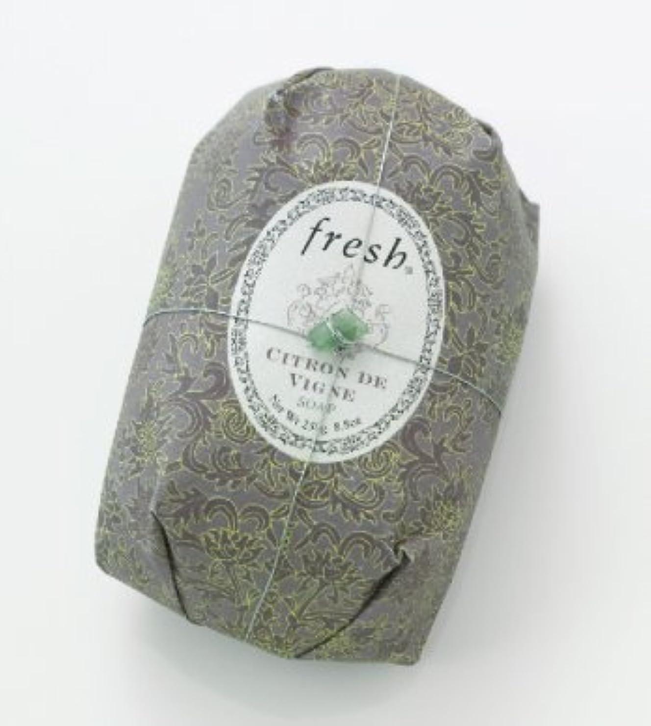 尊敬歯科医換気Fresh CITRON DE VIGNE SOAP (フレッシュ シトロンデヴァイン ソープ) 8.8 oz (250g) Soap (石鹸) by Fresh