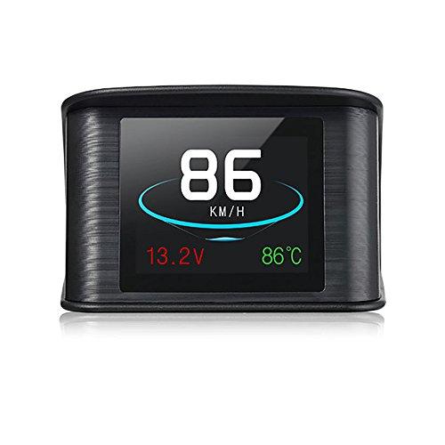 PolarLander Voiture HUD Head Up Affichage OBD2 EUOBD Auto Survitesse Système D'avertissement Projecteur Pare-Brise Numérique Compteur D'affichage D'alarme
