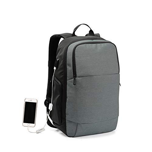 Wind Took Business Rucksack Reise Laptop Backpack 15.6 Zoll mit USB Anti-Theft Laptop Tasche Daypack & Tagesrucksack für Herren & Damen Wasserabweisend