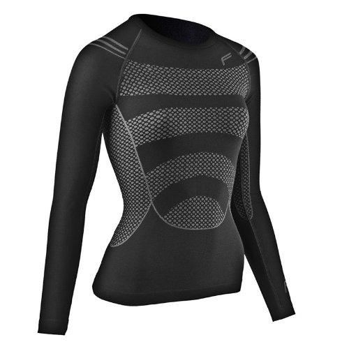 F-Lite Megalight 200 T-shirt à manches longues pour femme noir Noir Large
