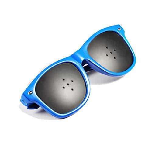 Gafas Reticulares Gafas antifatiga con agujeros gafas ordenador la Prevención de la Miopía