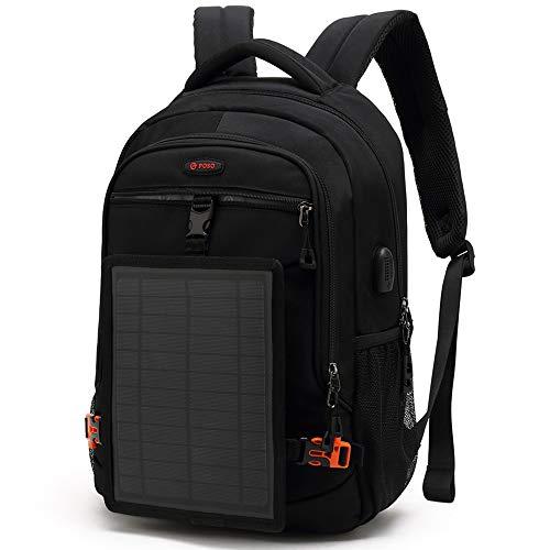 mochila con panel solar fabricante ZJY