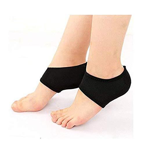 Gwill 1 par de almohadillas de refuerzo para el tobillo, para deportes al aire libre, para fascitis plantar, alivio del dolor en el talón, bailar, protección para el pie