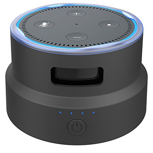 Smatree Portable Battery Base for Amazon Echo Dot