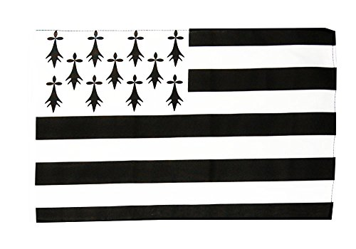 Flagge / Fahne Frankreich Bretagne + gratis Sticker, Flaggenfritze®