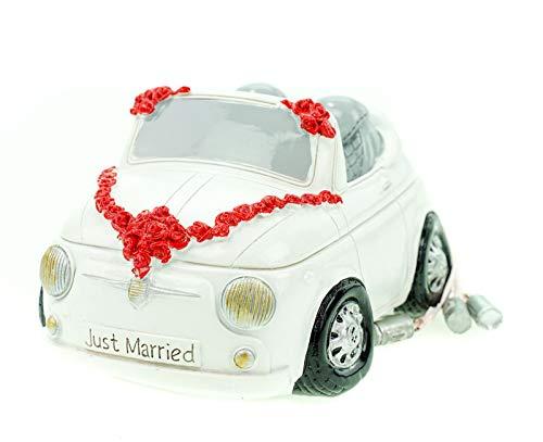 UDO Schmidt GmbH & Co Spardose Mini Cabrio Hochzeit mit Dosen Sparschwein