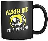 N\A Regalo de Soldador Regalo para Soldador Taza de café Soldador Regalo de Soldadura Taza de Soldadura Flash me Soy un Soldador Taza de café a880 Taza mugreeva