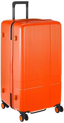 [イノベーター] スーツケース 大型 スリム 多機能モデル INV90 保証付 92L 79 cm 4.8kg オレンジピール