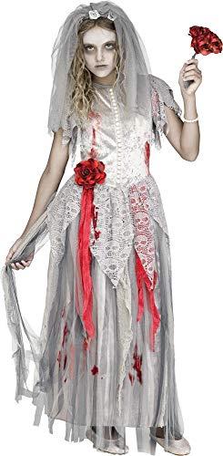 Fun World Zombie Bride Costume, Large 12 - 14, Multicolor