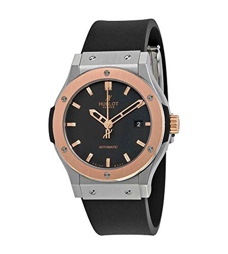Hublot Classic Fusion Black Dial Zirconium Automatic Mens Watch 542NO1180RX