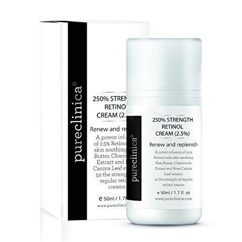 Crème 250% Rétinol – 50ml/ 1.7 fl. oz. Anti-âge puissant, avec 2,5x plus d'ingrédients actifs que les concurrents